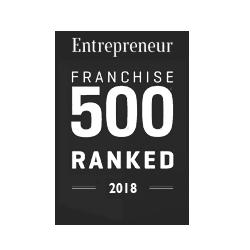 Logo for Entrepreneur Magazine for Top 500 Ranked in 2018