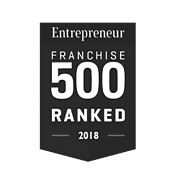 Logo for Entrepreneur Magazine for Top 500 Ranked in 2018