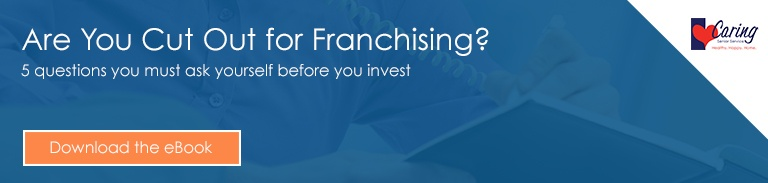 Are you cut our for Franchising?