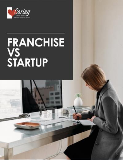 Franchise vs Startup Cover