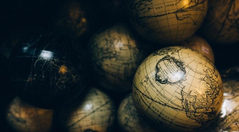 Old fashinoed globes
